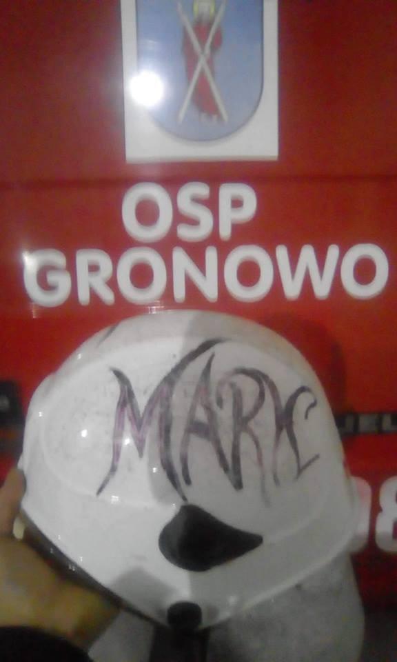 Marek - źródło profil Facebook OSP Gronowo